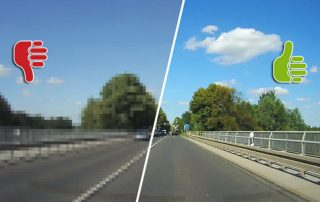 Dashcam Video Qualität